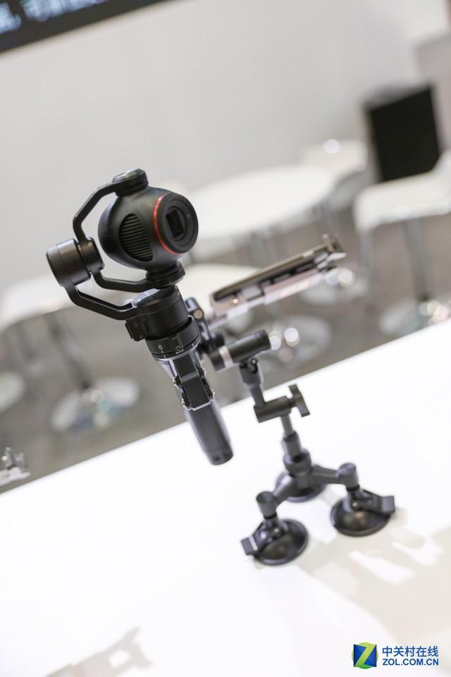 P&E2017 大疆展台的专业和民用无人机
