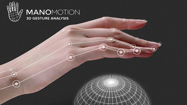 ManoMotion推出VR裸手追踪解决方案