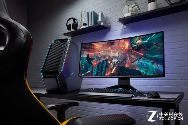 Alienware发布两款34吋曲面电竞显示器