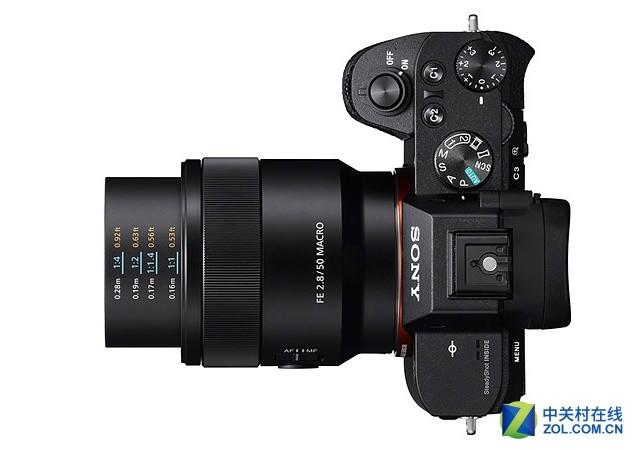 1.0x放大倍率 索尼发FE 50mm F2.8微距镜
