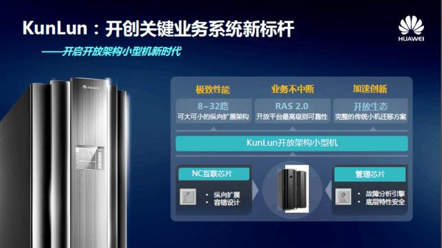 关键业务系统新标杆  KunLun能否破局