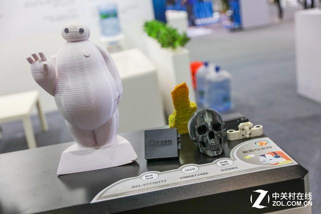 P&E2017 海鸥展台竟然展示3D打印成果
