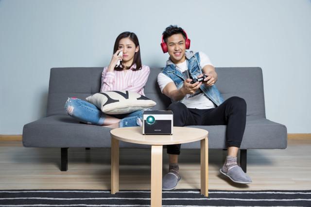 极米全新WXGA分辨率无屏电视Z5淘宝众筹