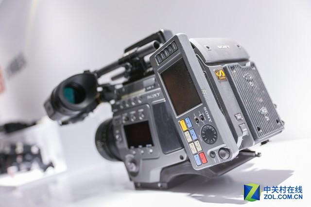 p&e2017 索尼展示的8k数字电影摄影机