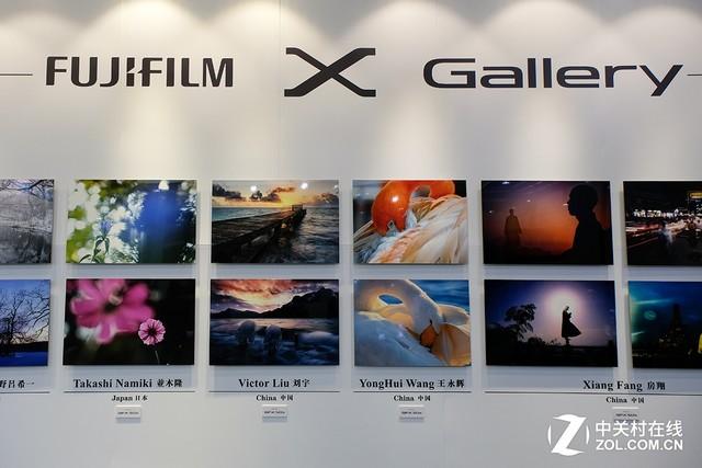 P&E2017 中画幅展魅力 富士展台纵览