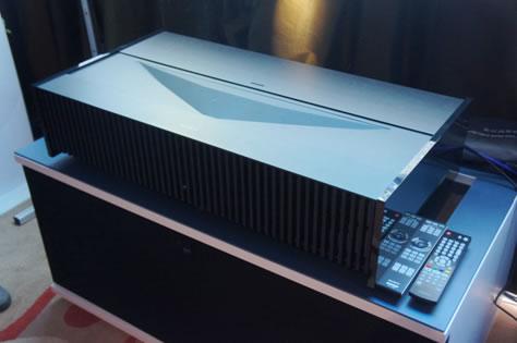 4K激光超短焦 索尼推出家用投影新旗舰