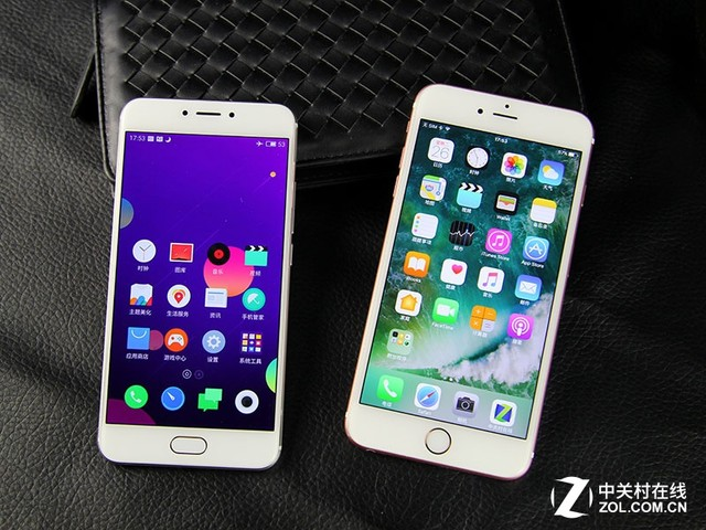 尖Phone:魅族MX6对比苹果iPhone6s Plus