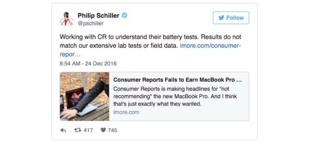 Macbook被曝续航不稳 苹果:我来帮你测