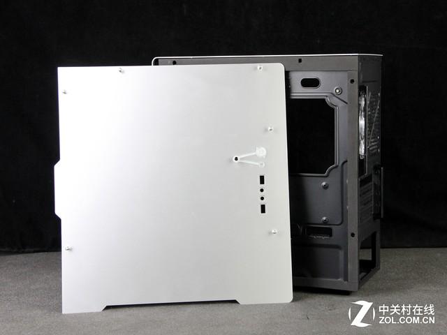 无边框极简风格 金河田V8铝机箱评测