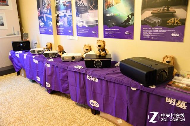 广州国际音响唱片展:明基携4K投影亮相