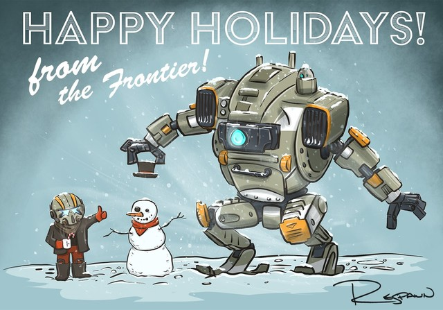 来自游戏界的圣诞祝福 各大厂商贺图