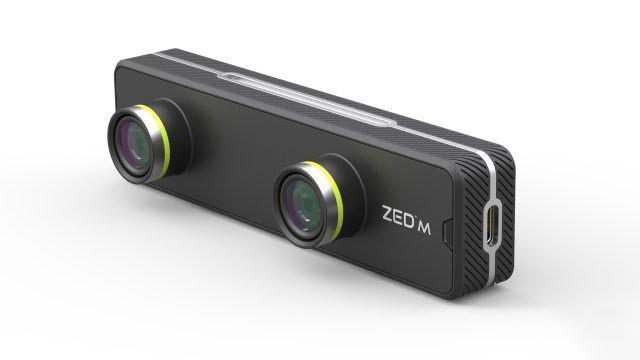 VR变身AR ZED Mini深度测绘摄像机发布