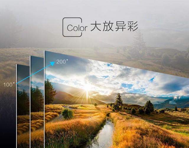 明基智能家用投影机i720 上映你的私人暑期档