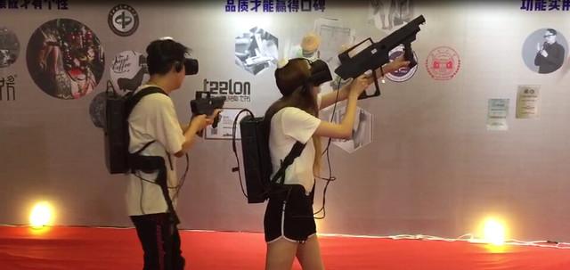 索泰VR GO亮相2017年京交会