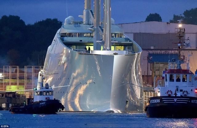 比马云飞机贵17倍 揭秘最贵的私人游艇