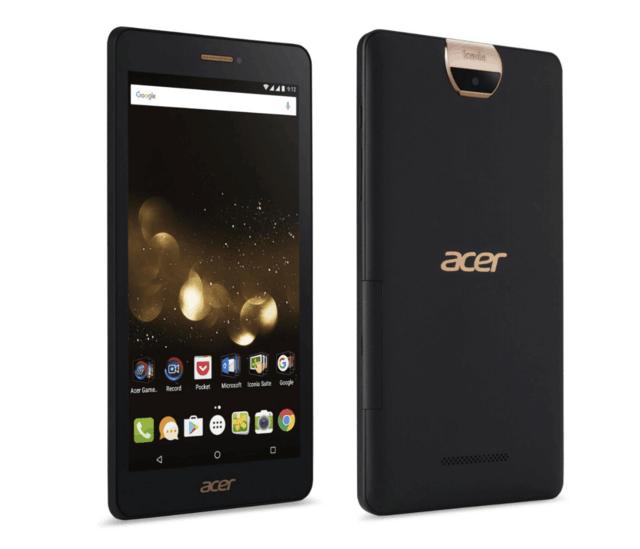 Acer发布7英寸巨屏跨界手机 售价仅千元