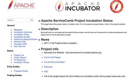 华为云ServiceComb项目进入Apache孵化器