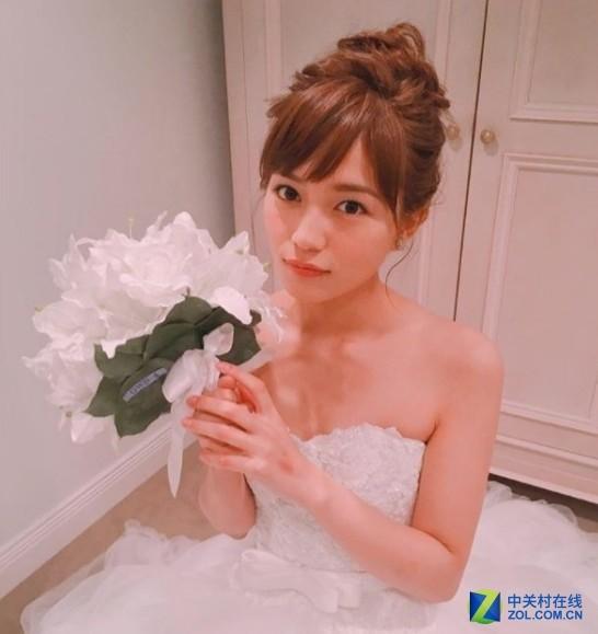 日本动漫影视剧女星婚纱照 引网友热议