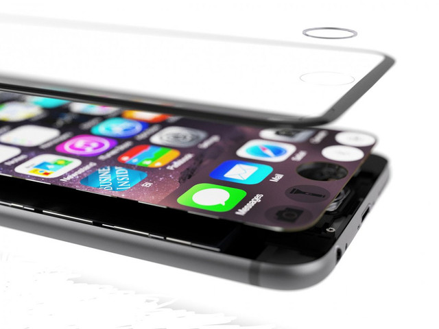 e 7概念图(图片引自apple-geeks)-压感屏立功 iPhone7的Home键