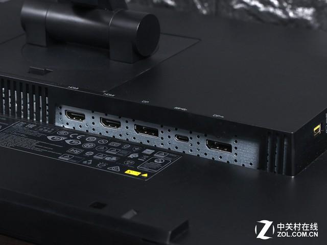Type-C接口+菊链连接 联想2K液晶评测
