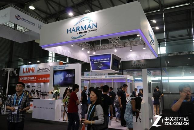 诸多新品亮相 CES Asia 2017哈曼展台