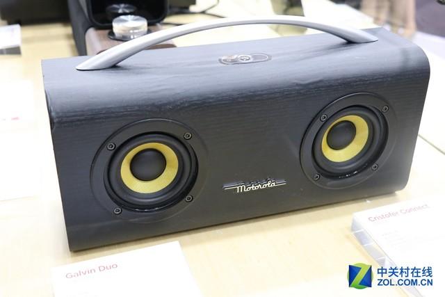 转战音频圈 Moto音响设备亮相CES Asia