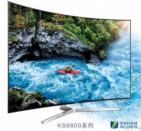 55寸量子点电视 三星UA55KS9800售18999