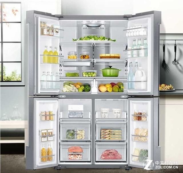 打造专业储存之典范 三星风冷冰箱推荐