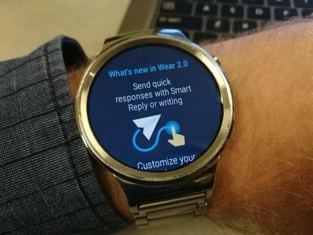 华为Watch近期更新:获Android Wear 2.0