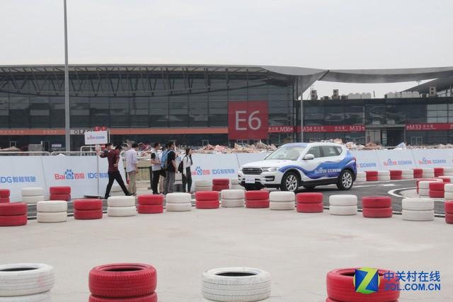 主打自动驾驶  汽车科技引领CES Asia展会   -7