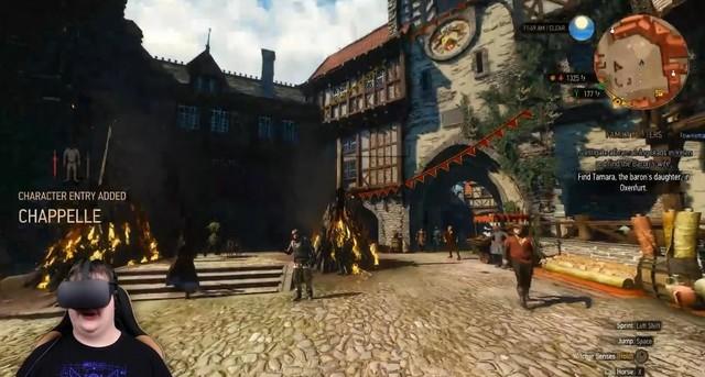 《巫师3》开发商CDP或将开发VR游戏