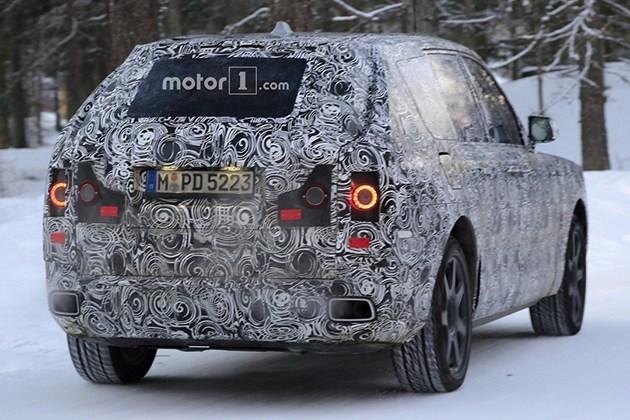 劳斯莱斯SUV最新假想图 或2018年投产