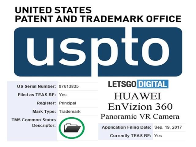 战苹果!华为在美申请360度全景VR相机专利