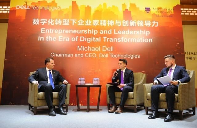 迈克尔戴尔访华:中国是重要市场