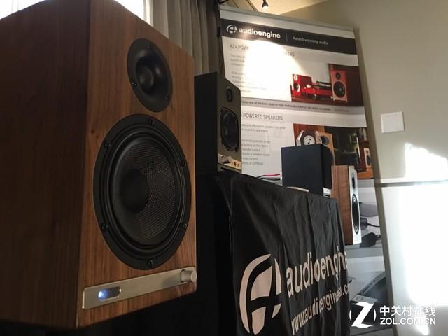 2016美国洛基山音响展 声擎展厅很抢眼
