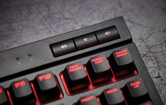 美商海盗船发布全新紧凑型游戏机械键盘K63