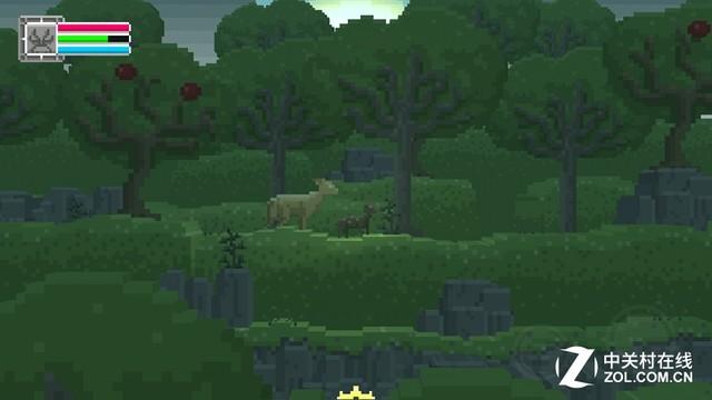 每日佳软:鹿神 打造像素风魔幻冒险