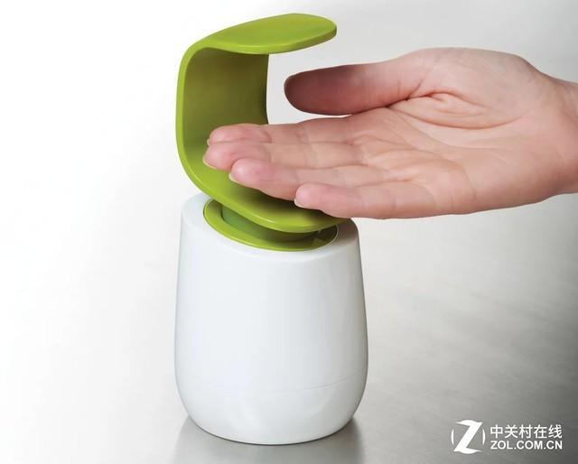 这样才更卫生!值得点赞的新式洗手液瓶
