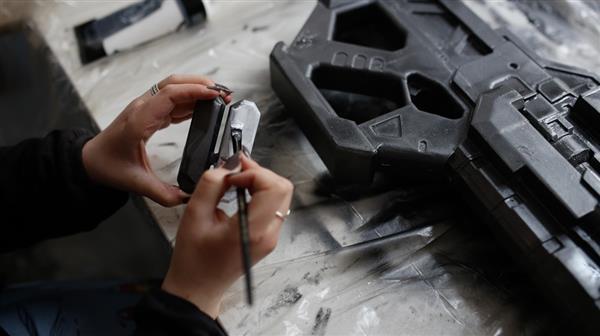 Coser的一把3D打印守望先锋射击枪模型