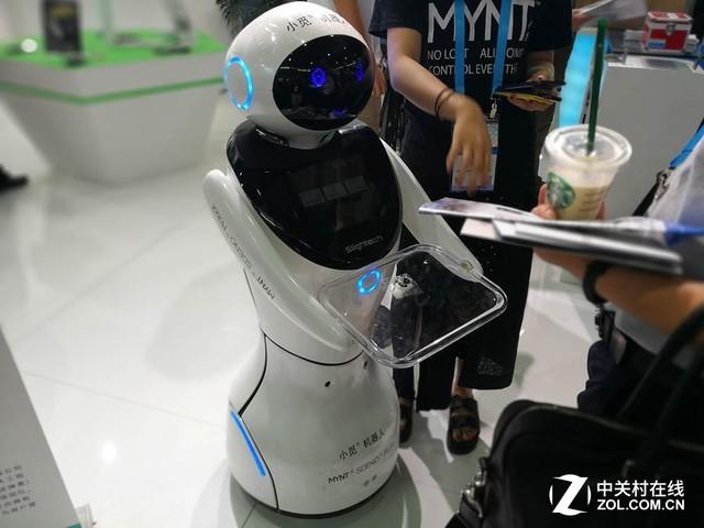 12万起售可定制 看CESA小觅智能机器人
