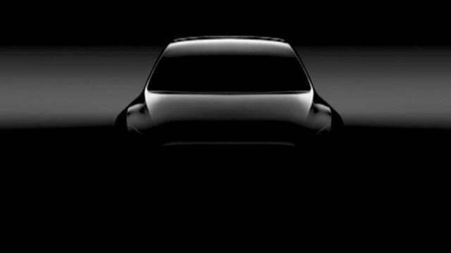 特斯拉再次发布Model Y小型SUV谍照