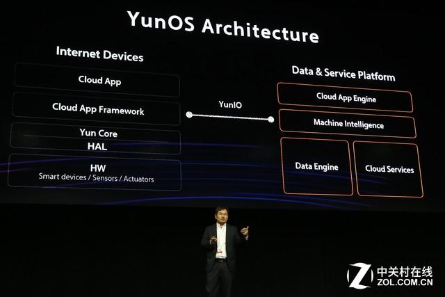 张春晖:YunOS天然为万物互联而生
