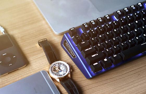 机械键盘颜值担当 镭拓MXX单光版仅售199元