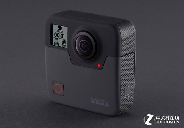 5.2K视频能力 GoPro发布Fusion全景相机
