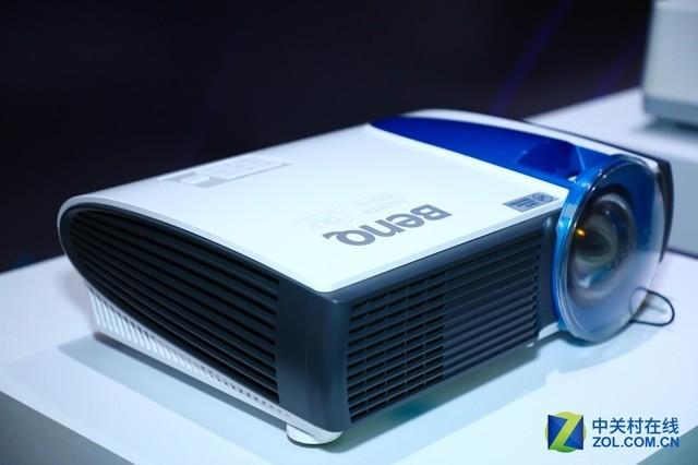 全线升级 明基发布4K激光工程投影