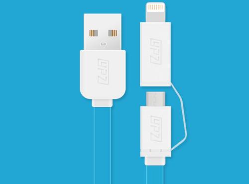 安卓数据线 配iPhone5s转接头