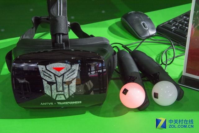 蚁视二代VR变形金刚定制版亮相CESA2017