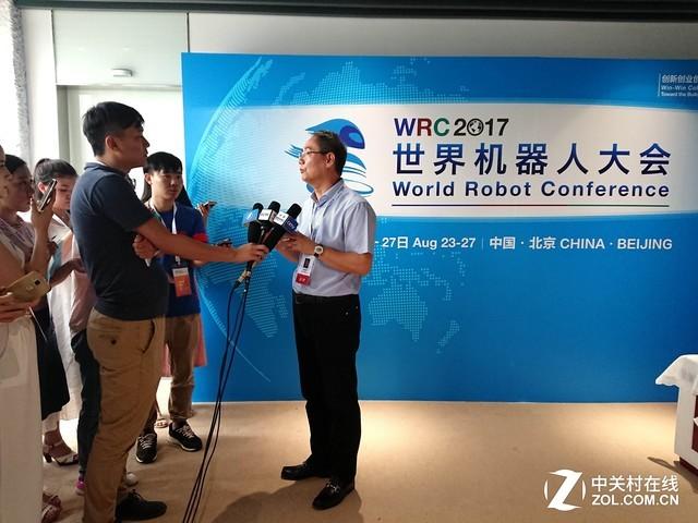 WRC2017:访新松机器人公司总裁曲道奎