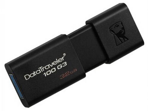 金士顿 DT 100G3 32GB USB3.0 U盘 黑色