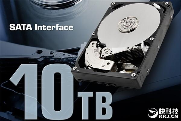 东芝10TB硬盘:原来是七碟装 单碟1.4TB